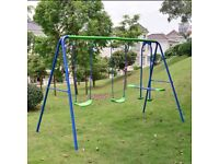 Swing see saw set not exact photo but same one in good used condition