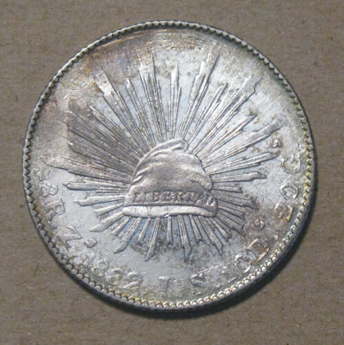 Mexico - 1882 ZsJS Large Silver 8 Reales