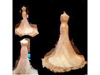 Lace Wedding dress 6-8 sexy lace up