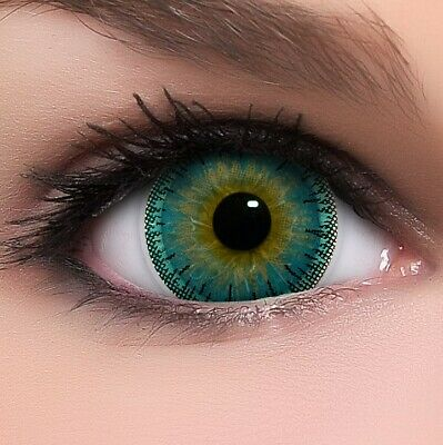 BigEyes Circle Lenses Blau