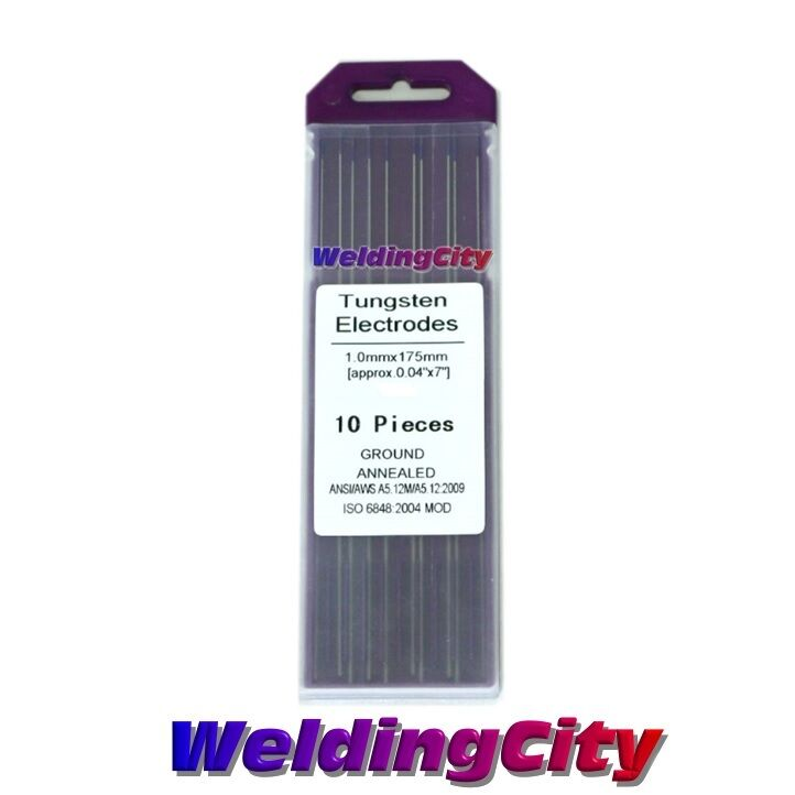 Gray TIG Electrode Tungsten Welding 3//32x7 10pk 2/% Ceriated