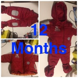 Jacket + Ski Pants & Attachable Mitts/Booties