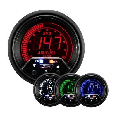 Prosport 60mm Evo wideband Air/Fuel ratio gauge kit inc sender AFR peak warning