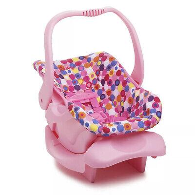 Joovy dukke legetøj baby autostol blå, børnepiger foregiver at lege dukke tilbehør pink