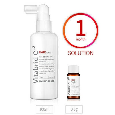 Vitabrid C12 Hair Tonic Solution Set/for Prevent Hair Loss&Promote Hair Regrowth