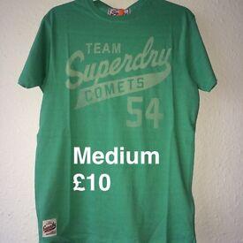 100% orignal superdry tshirts
