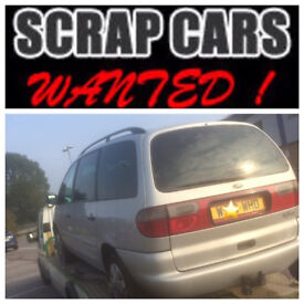 Wanted Scrap Cars Any Condition,CASH 4 CARS