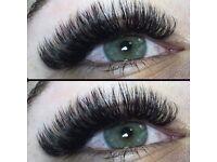 Classic, Russian volume Eyelash extensions-silk-faux mink-real mink-cashmere 40% April discounts