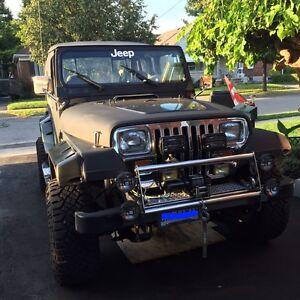 1989 Jeep TJ Wrangler