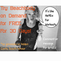 Free 30 Day BOD Trial (Like Netflix for Workouts...!)