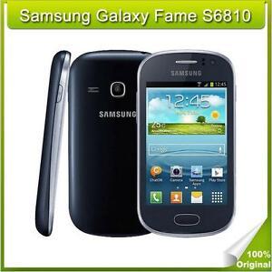 "Original Unlocked Samsung Galaxy Fame S6810 3.5"" 3G 4GB 5MP Android WIFI GPS"