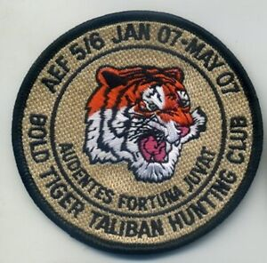 NTM-NATO-TIGER-MEET-PATCH-COLLECTIONS-AEF-5-6-BOLD-TIGER-TALIBAN-HUNTING-CLUB