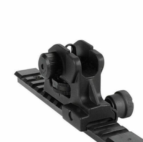 Adjustable Post  Iron Rear Sight