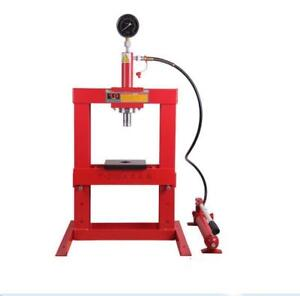 10 Ton Hydraulic Top Floor Press with Pressure Gauge NO.239119