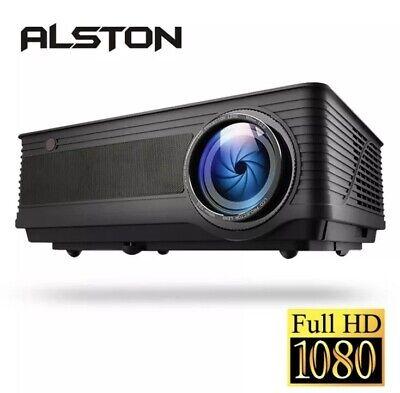 ALSTON M5 M5W Full HD 1080P Projector 4K 6500 Lumens Cinema Proyector Beamer..