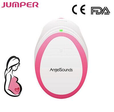 Angelsounds Pocket Fetal Doppler Unborn Baby Heartbeat Monitor