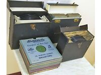 Lot 110+ Rare 78rpm Records, Some Over 100 Years Old, 10-inch & 12-inch