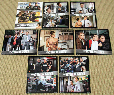 THE OTHER GUYS original SEALED 8x10 LOBBY CARD SET Will Ferrell EVA MENDES