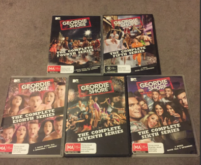 Geordie Shore : Season 4 - 8 (DVD, 2014, 13-Disc Set)