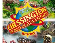 4 x tickets to Chessington - 22nd Sep 2017