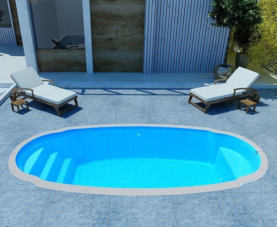 Fiberglass Inground Swimming pool shell New Italy 4