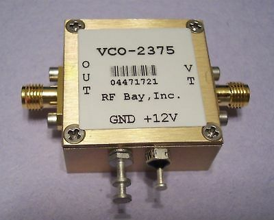 2300-2450mhz Voltage Control Oscillator Vco-2375 Sma