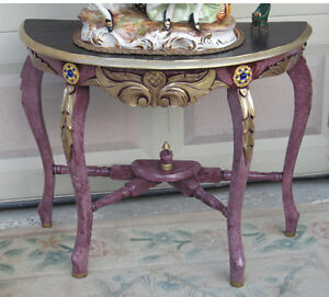Console Table/stand (carved Wood)