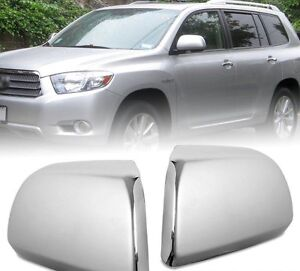 Toyota Chrome Mirror Cover For  11-14 Sienna , 08-15 Highlander