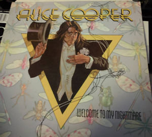 Alice Cooper - Welcome to My Nightmare vinyl record lp