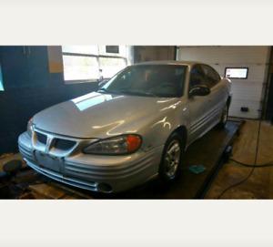 2002 Pontiac Grand Am SE1 Sedan $2500 AS-IS