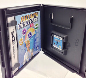 Nintendo DS - BRAIN CHALLENGE by Ubisoft or lot of 11 games West Island Greater Montréal image 2