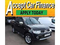 Mitsubishi L200 2.5DI-D CR ( EU V ) 4WD LB auto Barbarian FROM £57 PER WEEK