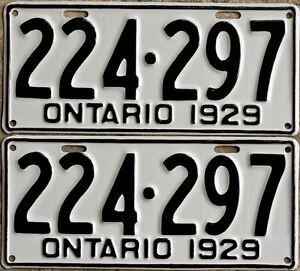 YOM Licence Plates For Your Old Auto - Ministry Guaranteed! Cornwall Ontario image 3