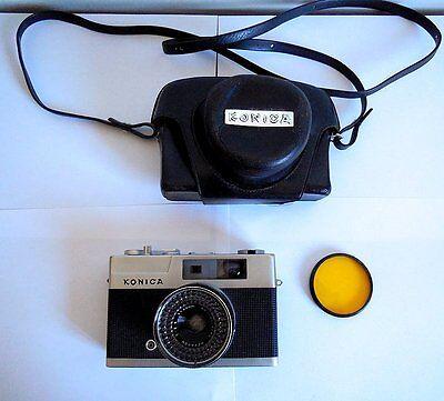 Дальномерные камеры Konica EE Matic Rangefinder