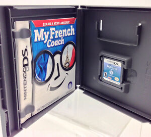 Nintendo DS - My French Coach - by Ubisoft or lot of 11 games West Island Greater Montréal image 2