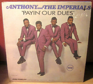 LITTLE ANTHONY & The Imperials Vinyl LP 1966 Soul / R&B *RARE* Kitchener / Waterloo Kitchener Area image 1