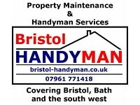 Bristol & Bath Property Maintenance & Handyman Services. Very competitive rates, no job too small.