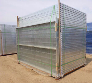 Temporary Rental Fence Panels for Construction Jobsites