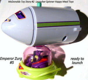 Toy Story 2 spinning Launch Toys for McDonalds 2001