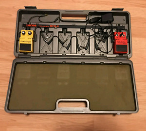 Boss Pedal Case and Pedals