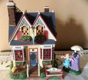 Dept 56 New Eng Village-Verna Mae's Boutique-Limited Ed-REDUCED