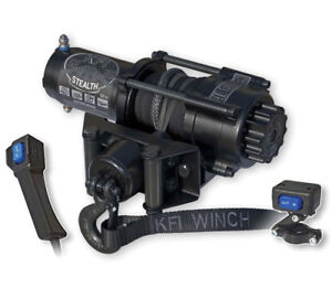KFI Stealth Rope Winches - CLEARANCE - 2500, 3500, 4500