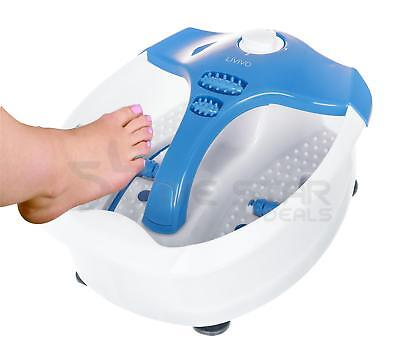 INFRARED VIBRATING WET BATH FOOT SPA MASSAGER PEDICURE FOOTSPA SOOTHING BLUE