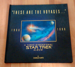 "Star Trek 3D Album Popup Book ""These Are The Voyages..."""