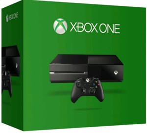Xbox One 500GB Console (with required accessories)