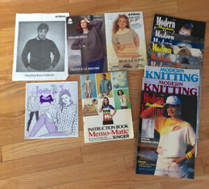 For Sale: 9 Modern Knitting Magazines + others