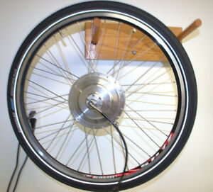 ebike motor and wheel