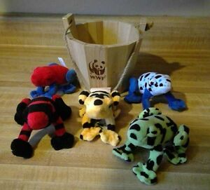 Plush Bucket-o-Frogs