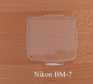 Nikon BM-7  LCD Monitor Cover Screen Protector for Nikon D 80