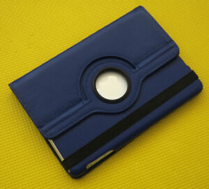 iPad Mini 2/3/4 Air Leather Case, Blue